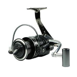 Wholsale Full Metal Aluminium Body Súper calidad Fishing Wheel 13 + 1BB BA Serie Spinning Reel Boat Rock Bait Carp Fishing Reel Envío gratis