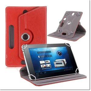 "Funda universal para tableta 7 ""8"" 9 ""10"" 360 Funda de cuero giratoria Flip Case para Apple Ipad mini 2 3 4 air Samsung Tab S2 T815 T715 Cubierta"