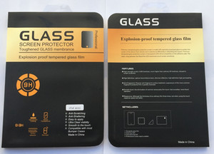 Protezione dello schermo in vetro temperato per iPad Mini 1 2 3, Mini4,2 3 4, Air Air2 5 6 Tablet 0.3mm 2.5D Premium Clear Explosium Proof Films Box
