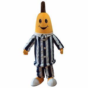 Dexule Bananas In Pyjamas Maskottchen-Kostüme, Banana-Maskottchen-Kostüm