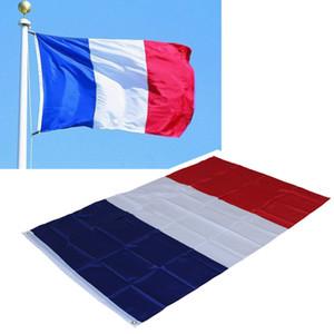 87 * 148 cm Fransa Ulusal Bayrak Ofis Faaliyet Parade Tatil Festivali Dekorasyon Afiş Bayrakları Için-le drapeau tricolore