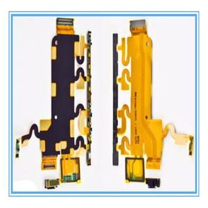 Büyük Ana Ses Anahtarı Yan Güç Açma / Kapama Düğmesi Flex Kabloları Sony Xperia Z1 L39h C6903 Anakart Mikrofon Flex Kablo Ücretsiz Kargo