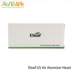 Eleaf GS Air Atomizzatore Testa in puro cotone Testa 1.2ohm 0.75ohm Sostituzione Bobina Fit GS Air atomizzatore GS Air 2 Atomizzatore per iStick Basic Kit