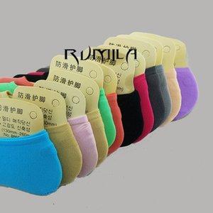 Chaud confortable coton bambou fibre fille chaussettes femmes cheville faible femelle invisible couleur fille garçon chausson 3 paire = 6pcs 3xWS40