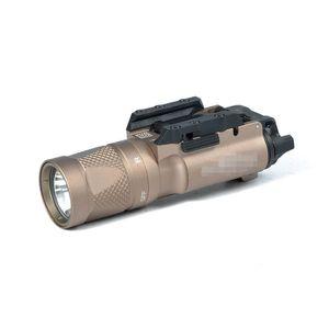 NEW SF X300V-IR Linterna Tactical LED luz blanca y Salida IR Ajuste 20mm Picatinny Rail Versión Marcada Tierra oscura