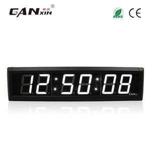 [Ganxin]2.3-дюймовый 6 цифр LED настенные часы белый цвет LED таймер 7 сегментный дисплей обратный отсчет с пультом дистанционного управления