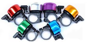 300pcs Nueva Seguridad Metal Ring Handlebar Campana de sonido fuerte para bicicleta Ciclismo bicicleta campana cuerno