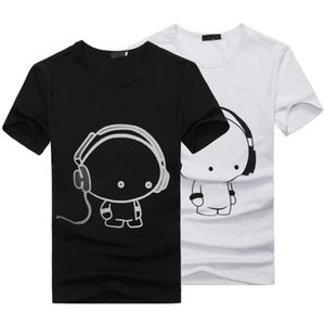 Al por mayor-Hot New Summer Mens Casual manga corta 3D Anime Funny T-Shirts Moda Streetwear Hip Hop Tee Tops camiseta homme