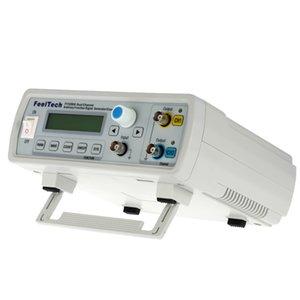 Freeshipping Digital DDS Función de canal doble Generador de fuente de señal Forma de onda arbitraria / Medidor de frecuencia de pulso 12 Bits Sine Wave 20MHz