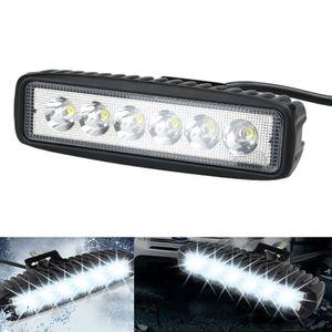 18W 홍수 LED 작업 빛 ATV Off Road Light Lamp 오프로드 용 라이트 바 운전 SUV 자동차 트럭 트레일러 UTV 차량