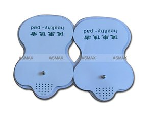 40 pcs Snapon P E T électrode de support pad sain pour masseur de thérapie numérique - massage du dos