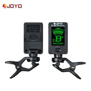 JOYO JT-01 Clip-On Digital Tuner 360 grados giratoria máquinas cromáticas guitarra sintonizadores para la guitarra baja del Ukulele del violín