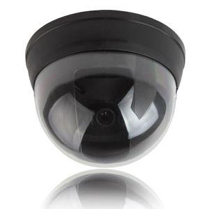 빨간색 활동 LED 조명 CCT_704와 작은 더미 시뮬레이션 된 돔 보안 카메라