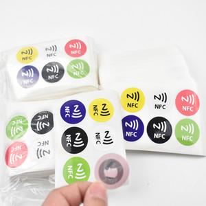 6pcs / lot Etiqueta NFC Etiqueta 13.56MHz ISO14443A Ntag 213 Etiquetas NFC Etiqueta Universal Lable Ntag213 Etiqueta RFID para habilitar NFC
