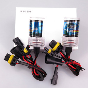 2 unids Xenon Hid Bulb 35W CARUDE DE CARA 12V 9005 9006 H1 H3 H7 H8 H8 H1 H11 Lámpara Bulb 3000K 4300K 6000K 8000K 10000K 12000K