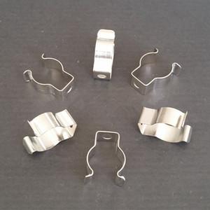 Acessórios de iluminação T4 / T5 / T8 tubo da lâmpada braçadeira anel grampo da braçadeira clipe de suporte clipe de retenção primavera fivela clipe de metal cartão fluorescente