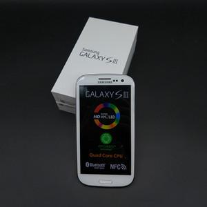 Original Samsung Galaxy S3 i9300 GSM 3G Quad Core Ram 1GB Rom 16GB 4,8 polegadas 8MP desbloqueado telefone Recuperado
