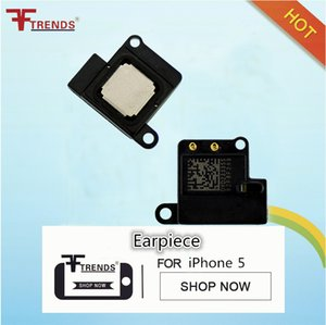 Partie de réparation oreille haut-parleur écouteur pour Apple iPhone 5 5G 5ème pièces de rechange de rechange de haute qualité 10pcs / lot