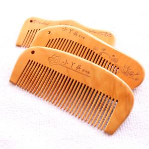 Puestos de venta de productos de exquisita caoba pelo natural anti-estática cosmética al por mayor pequeño peine