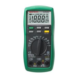 Freeshipping 1 pcs Multímetro Digital Auto Manual Variando DMM Temperatura Capacitância hFE Teste