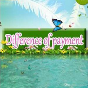 Venta al por mayor Nueva moda Venta caliente Diferencia pago Pago diferencia Pago pago Envío gratuito