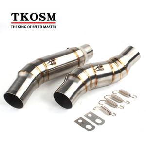 TKOSM-Klammer auf mittlerem Rohr CAT Eliminator-Rennauspuff für Kawasaki Z1000 2010 2011 2012 2013 2014 2015