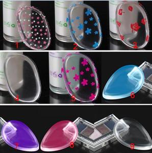 Sıcak silikon yüz vakfı aracı jöle tozu puf up temizle tozu puf eserdir BB krem fondöten makyaj araçları