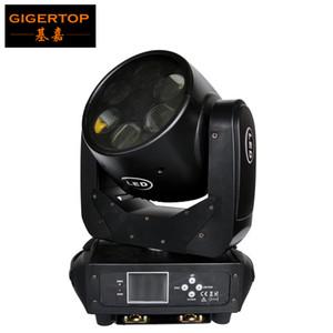 Gigertop Professional éclairage puissance 6X25W scène haute LED blanche super faisceau mobile Head Light DMX 512 Affichage LCD de contrôle