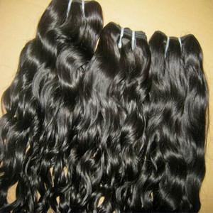 2020 NUEVO AÑO NUEVO NIÑAS PRINCIPIO 8A Queen Hair Brasileño Natural Bouncy Curly Hair Price Barato Se puede teñir 3 unids / lote 300g Bundles de grosor