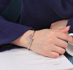 Amicizia regalo di Natale Bracciali vendita calda braccialetto regalo di natale di Silver Plate monili di fascino del braccialetto di raffinata nobile maglia del delfino del braccialetto di modo