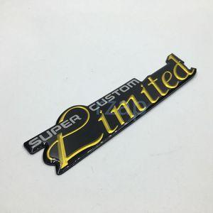 자동차 스타일링 슈퍼 사용자 정의 제한 엠블럼 로고 배지 명판 칼 오토 바디 장식 범용 ABS 스티커