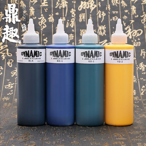 Venta al por mayor - 8oz 8 colores de tinta de tatuaje dinámico para kits de tatuaje LinerShader Tattoo Pigment Hot Ink Ink INK206