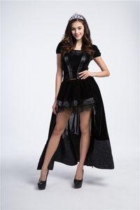 Fairy Tale Princess Witch Juegos de rol Uniformes Tentación Halloween Queen Loaded Cosplay Sexy Dress
