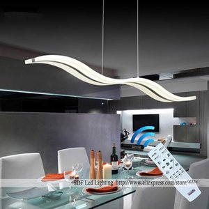 pingente luzes modernas superior para Dinning sala cozinha do restaurante acende AC85-260V luminária lamparas pingente lâmpadas L98CM