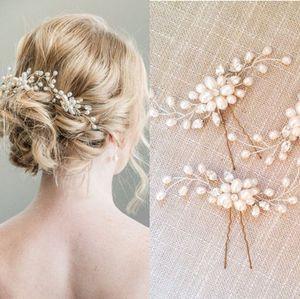 Düğün Gelin Nedime El Yapımı Beyaz Boncuk Kristal Çiçekler Saç bandı 4 adet / grup Çelenk Headdress Yeni Moda Saç Takı Aksesuarları