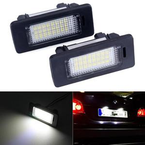 2 unids / lote 12v White 6000k LED Número de placa Lámpara de Lience Lámpara para BMW E60 E82 E90 E92 E93 M3 E39 E60 E70 X5 E39 E60 E61 M5