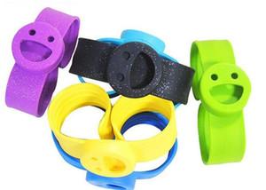 Baby Klatschen Kreis Lächeln Gesicht Silikon Mückenschutz Armband Kinder Outdoor Anti Moskitos Handschlaufe 2 6sd C R