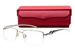 marche famose design bufalo corno occhiali uomo donna lenti lenti da sole occhiali da sole in metallo argentato color oro