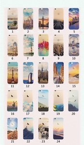 For Apple iphone 6 6S plus iphone 7 plus SE Silicone Cases Protection Cove TPU Cell Phone Cases Elizabeth Tower Big Ben Eiffel