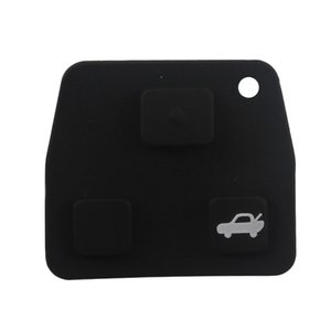 2 3 Botão de carro remoto carro Key Fob Rubber Pad stying capa para Toyota / Avensis / Corolla / Lexus / Rav4