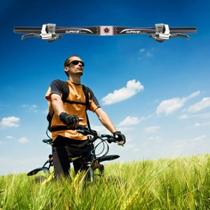 WAKE 31.8mm * 620mm liga de Alumínio Ciclismo Riser / Flat guidão MTB Mountain Road Bicicleta Guidão Da Bicicleta