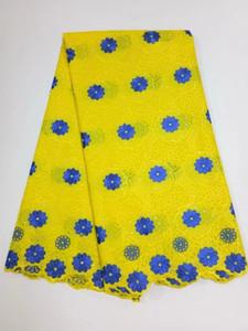 El último nuevo diseño africano algodón suizo de la gasa del cordón de la tela de alta calidad de la gasa suiza africana del cordón En Suiza 699942139673