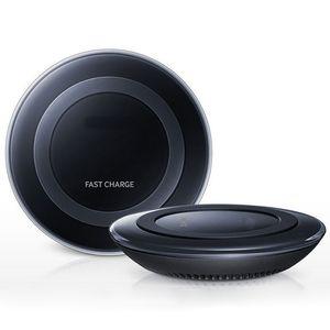 Высокое качество мобильного телефона ци беспроводное быстрое зарядное устройство зарядная площадка для Samsung Galaxy S6 край G9200 G9250 iphone 5 6 6 плюс бесплатная доставка