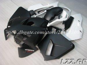 Черный белый для Honda CBR600 RR 03 04 CBR600RR F5 2003 2004 CBR600 RR 2003-2004 F5 обтекатели + бак #n826q