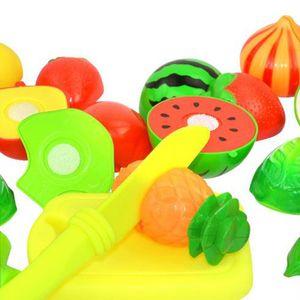 New Kids Cozinha De Plástico Alimentos Brinquedos De Frutas De Corte De Frutas crianças Fingir Jogo Brincar Educacional Food Cooking Presentes Do Bebê Da Família Kit De Cozinha