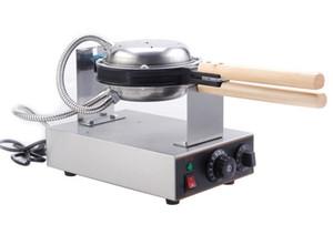 Ücretsiz kargo Hongkong paslanmaz çelik elektrikli yumurta kek fırını; 220 V, 110 V, QQ yumurta waffle makinesi; Yumurta Waffle Makinesi LLFA