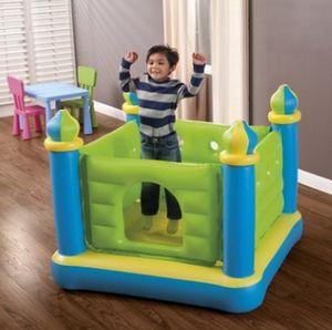 Castle Fun Jump Bouncer Inflatable Kursaal Sea Ball Pool für Kind-Kind-Indoor Outdoor Play-Spielzeug