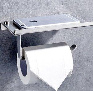 Dikdörtgen Paslanmaz Çelik Cep Haddeleme Telefon Doku Tutucu Tuvalet Duş Odası Rulo Kağıt Tutucular Banyo Makaleler Deneme Sipariş 20qy C