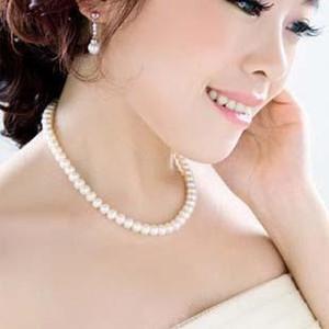 New Elegant Lady String Pearl Necklace Perle donna Perline Collane Pendenti Collane Imitazione perla Chocker catena corta Gioielli Jewellry