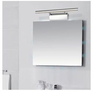 5w7w9w LED Ayna Işıkları Vanity Işık Banyo Işık Makyaj Duvar Işık Resim Ön Lamba Anahtarı Ile 28 cm 40 cm 55 cm 70 cm